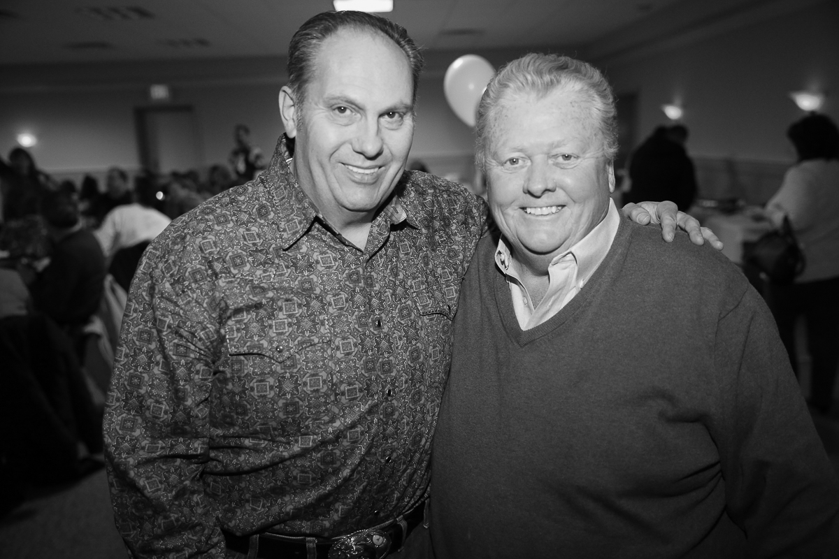 Photo By Curtis Knight.  Two Handsome dudes at the Lynnway auto Auction  Holiday Party.